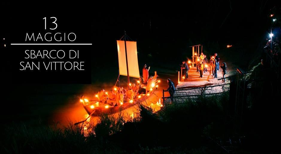 Ad Portvm Olei – Sbarco di San Vittore e Dramma Sacro